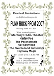 Highlight for Album: 2007 Punk Rock Prom at the Underground
